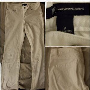 Denim - White pants